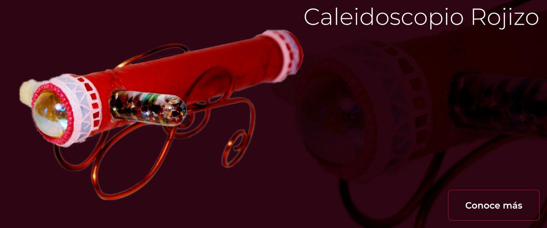 Caleidoscopio Rojizo